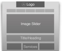 Las Vegas Website Design Wireframe
